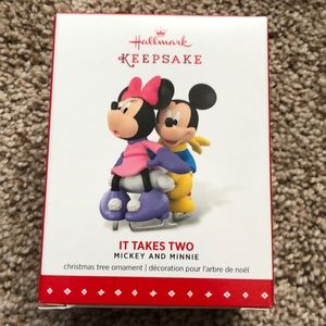 It takes two - Mickey and Minnie